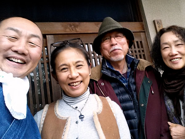 飯塚万里さん、松本破風さん、竹虎四代目