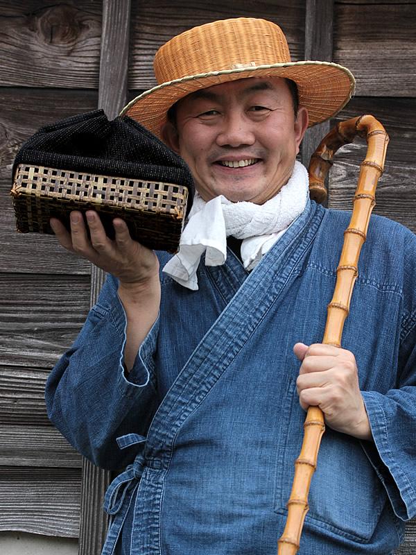 竹帽子、竹虎四代目,作務衣,さむえ,SAMUE