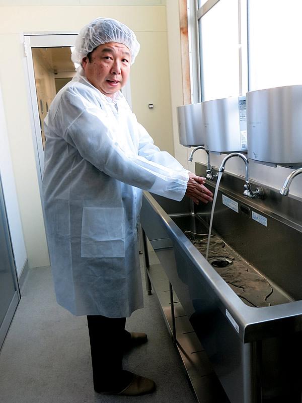 虎竹の里炭石鹸工場