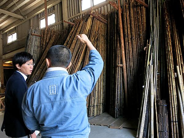 竹虎工場の虎竹