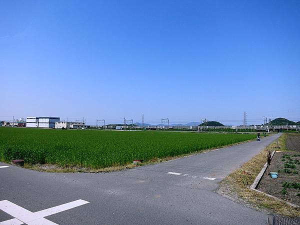 滋賀県、田園風景