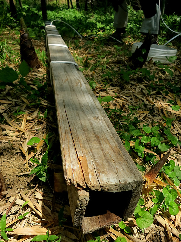 角竹用木枠