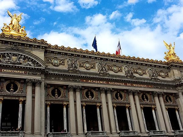パリ、オペラ座