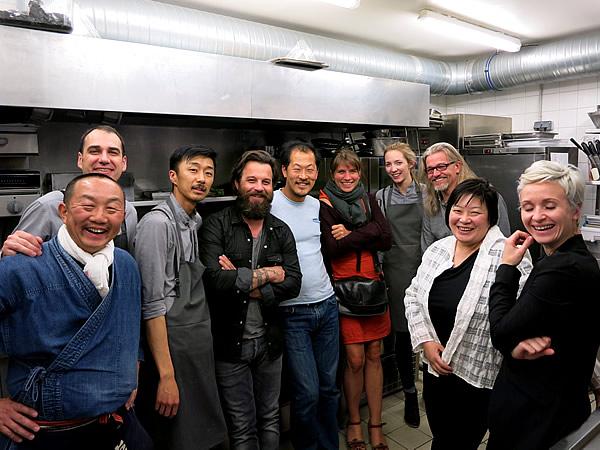 Atsushi Tanaka、Laurent Favre-Mot、竹虎四代目(山岸義浩)、Ben Bibenbou、Sang-Hoon Degeimbre、Catherine Seiler Luttmann