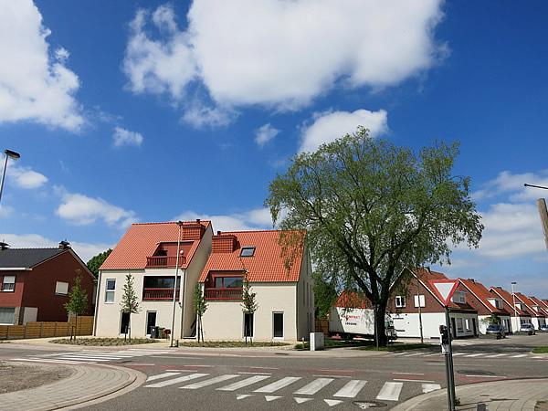 ベルギーの美しい田舎町