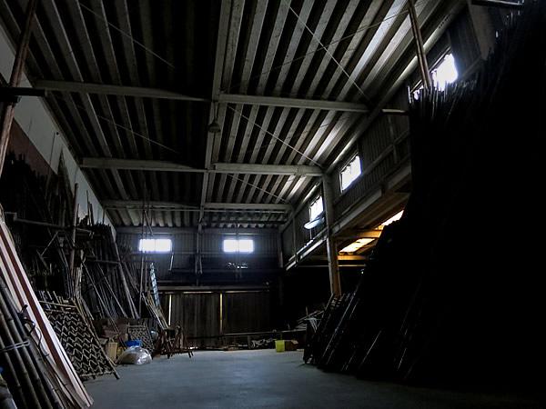 休日の竹工場