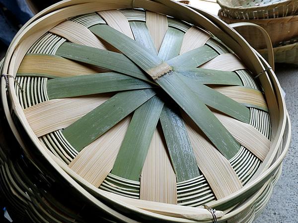 竹籠底編み
