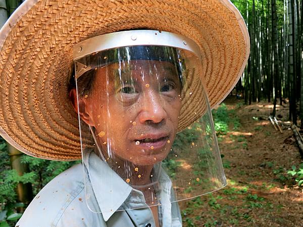 図面竹の竹林にて清水さん