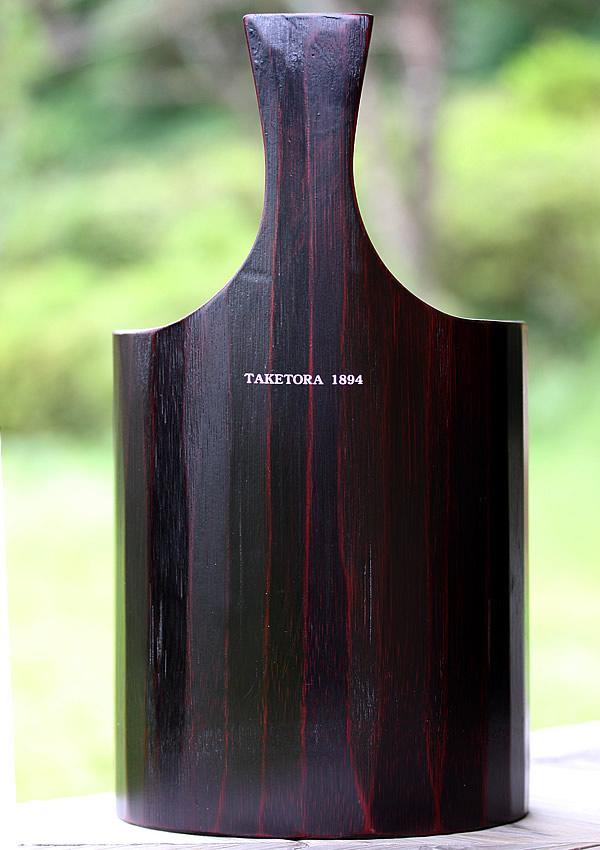 竹ワインクーラー刻印