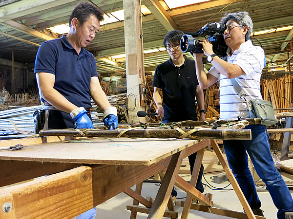 虎竹枝折り戸製造
