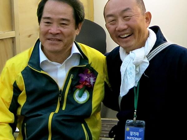 2015世界竹博覧会、崔亨植郡長様