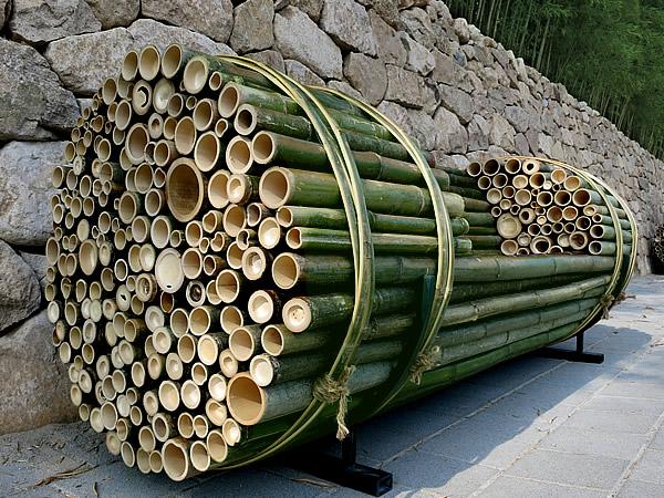 世界竹博覧会(World Bamboo Fair)竹ベンチ
