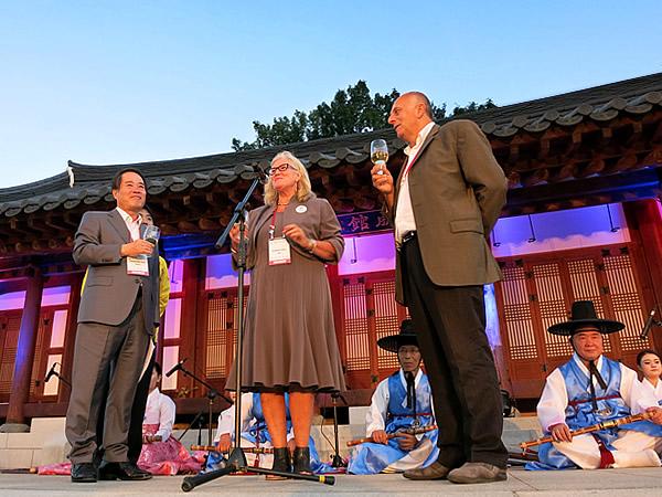 世界竹博覧会のコンセプトは「屋根の無い竹展示場」