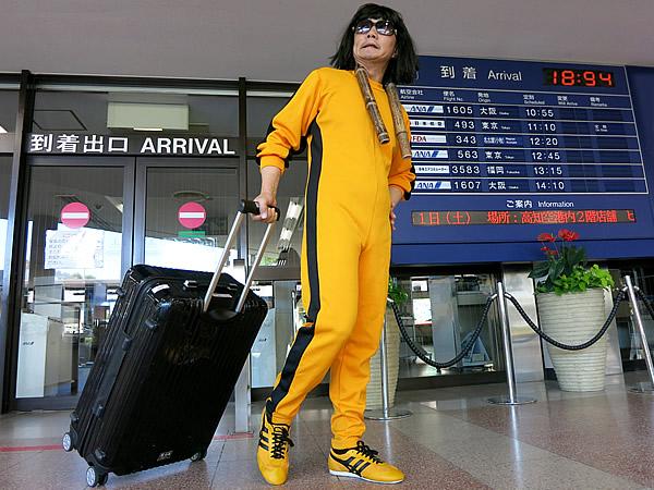 タイガー・タケトラ IN 高知龍馬空港
