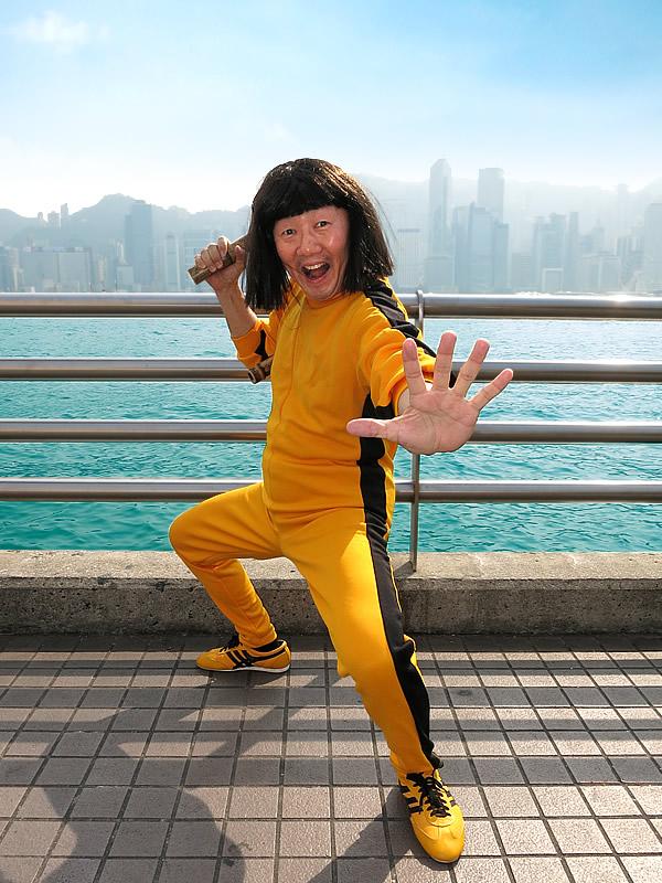 タイガー・タケトラ日本唯一の虎竹ヌンチャクIN香港
