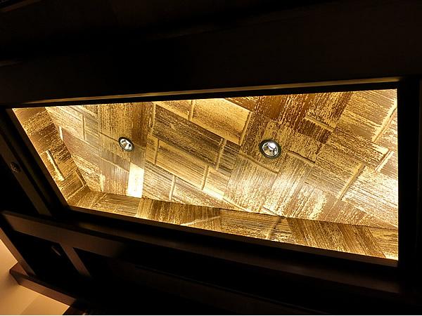 虎竹ヒシギ貼り天井