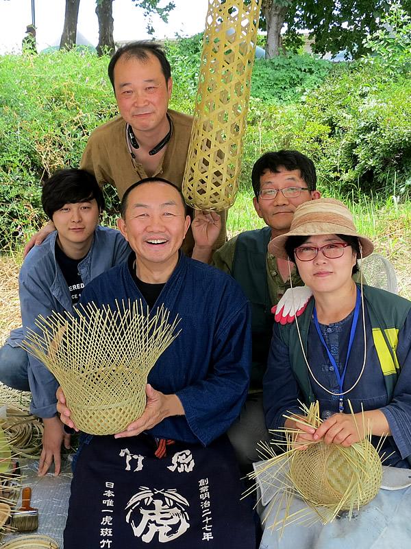韓国の竹抱き枕
