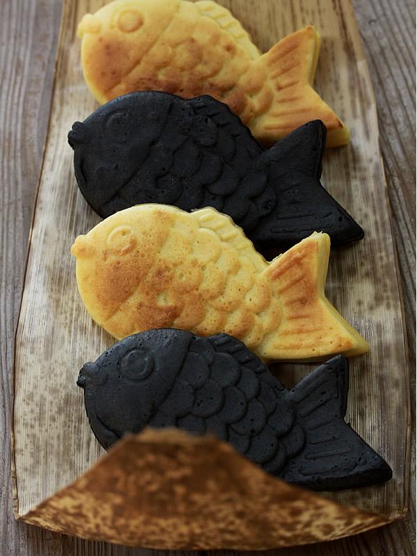 竹炭鯛焼き