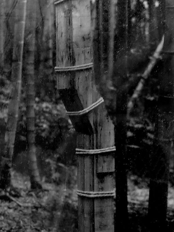 図面竹の木枠