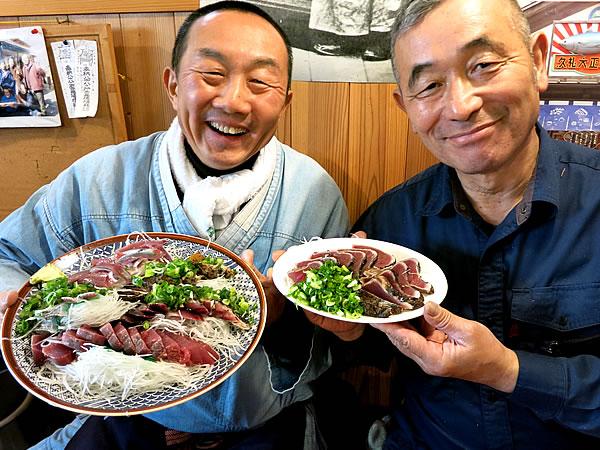 田中鮮魚店、地獲刺身
