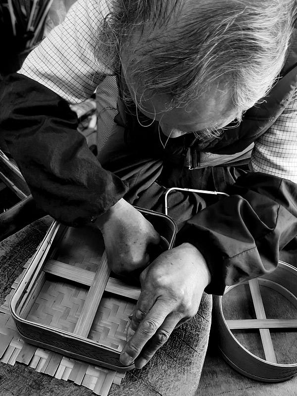 白竹三段弁当箱製造