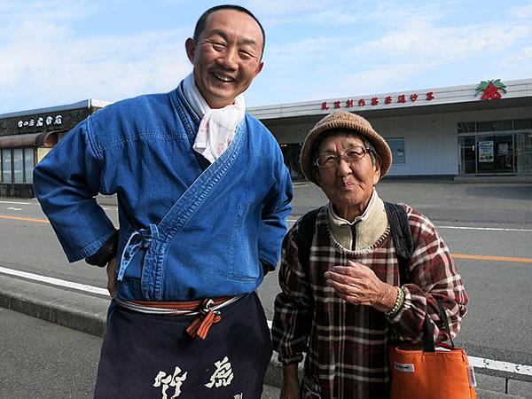 竹虎四代目、46年ぶりの再会