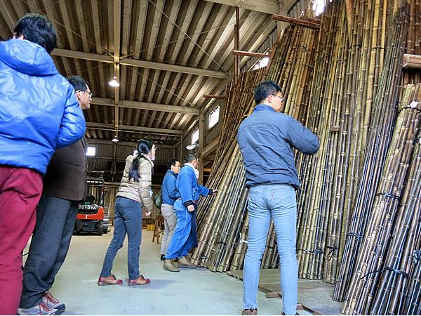 竹林景観ネットワーク第17回研究集会、竹虎工場