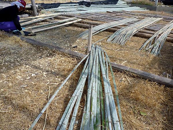 鰯籠の材料、孟宗竹
