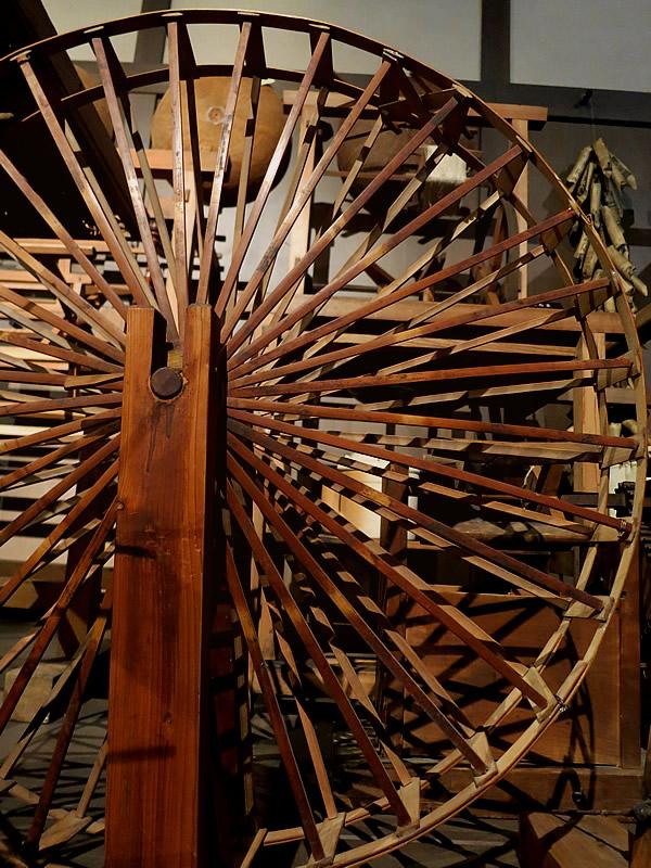 糸車の煤竹