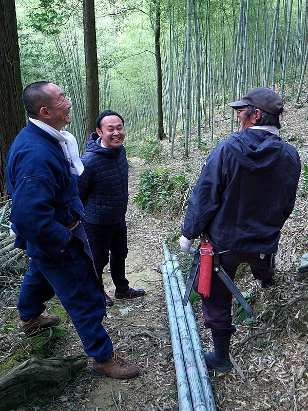 長尾寛己さん、竹虎四代目(Tiger Bamboo)