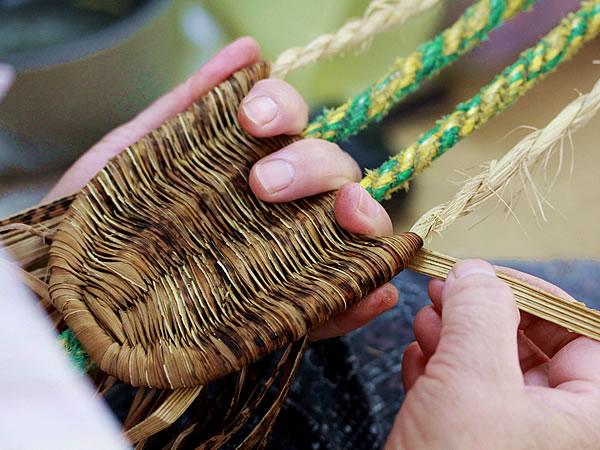 竹皮草履製造