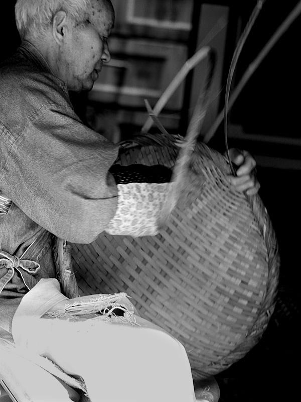竹編み(Bamboo craftsman)