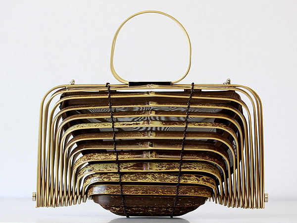 虎竹バック、Tiger Bamboo bag