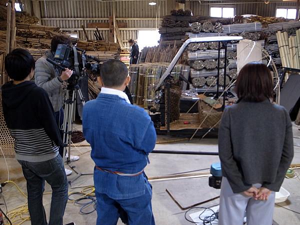 竹虎四代目(山岸義浩、YOSHIHIRO YAMAGISHI、TAKETORA)、RKC高知放送こうちeye、日本唯一の虎竹自動車g