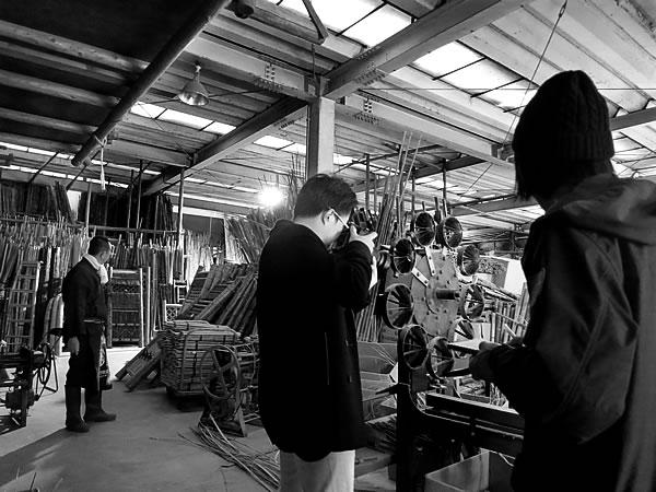 香港(Hong Kong)の雑誌「OBSCURA」竹虎工場取材