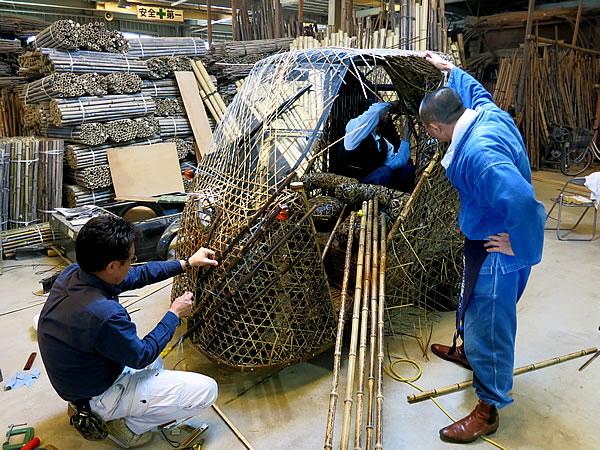 竹虎四代目(山岸義浩、YOSHIHIRO YAMAGISHI、TAKETORA)、日本唯一虎竹自動車(bamboocar)