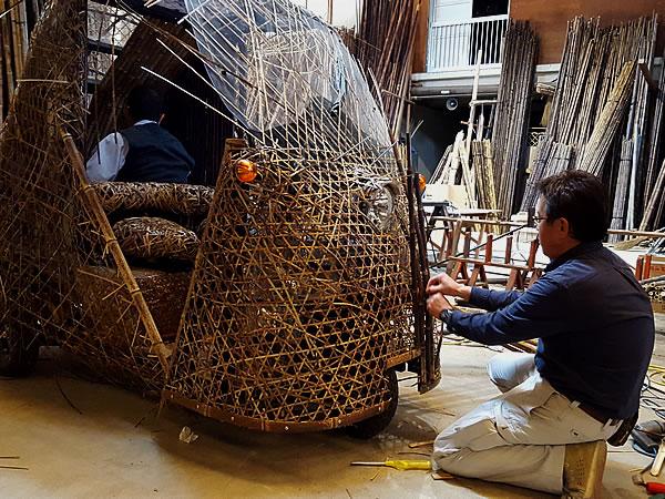 日本唯一虎竹自動車製造(bamboocar)