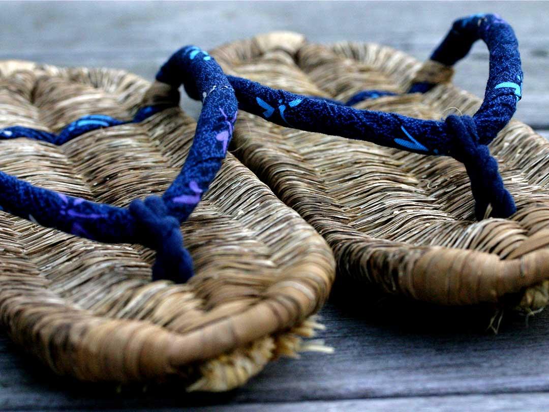 国産竹皮草履