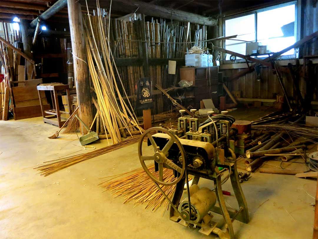 休日の竹虎工場