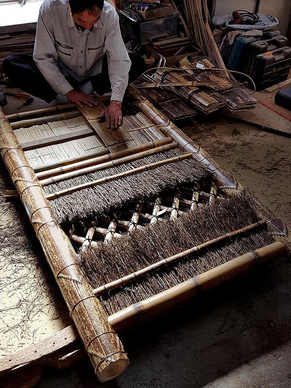 虎竹袖垣製造職人