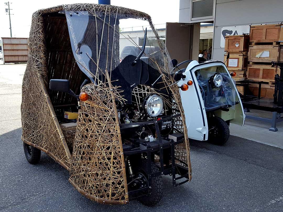Like-T3と並んだ日本唯一の虎竹自動車