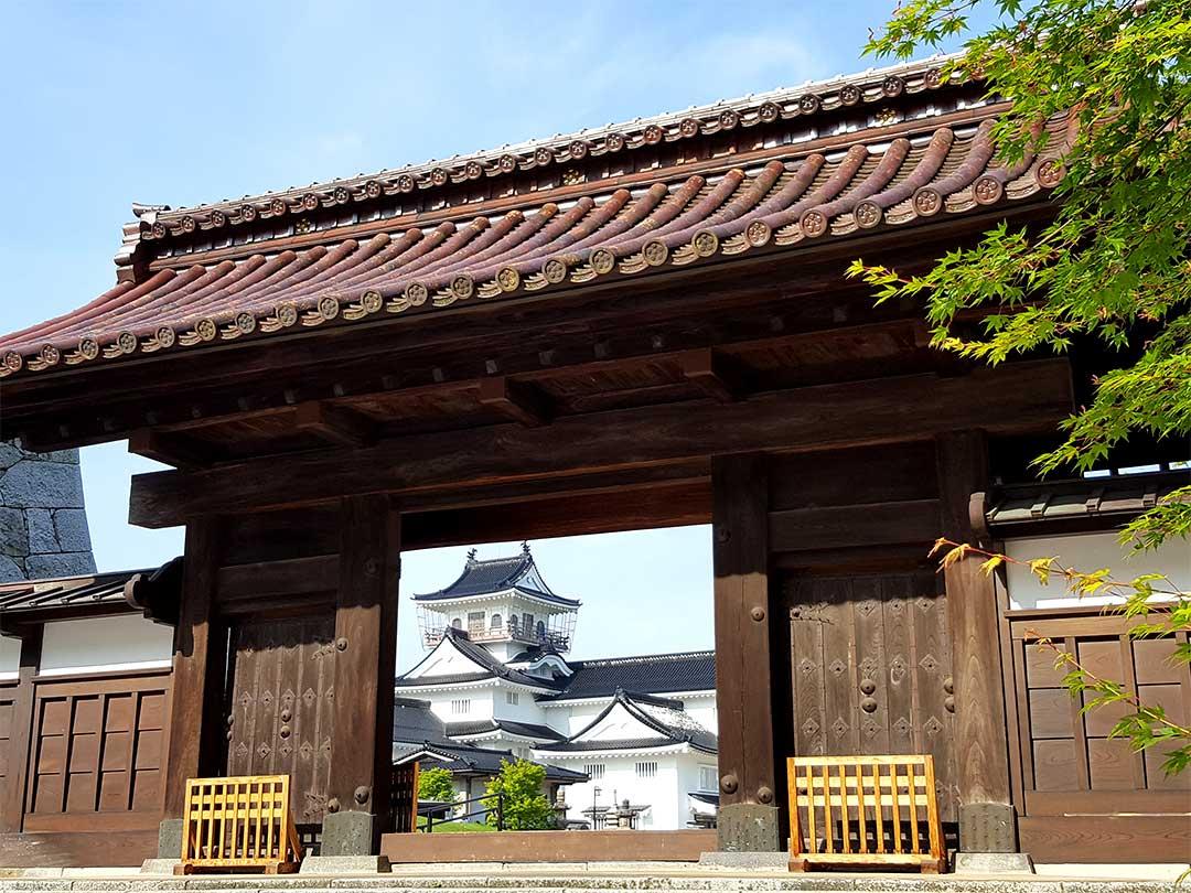 富山城、千歳御殿門