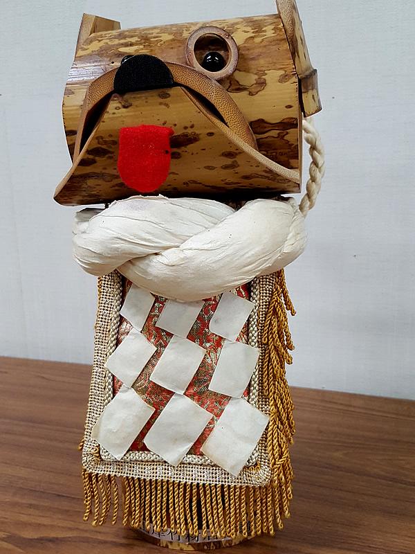 図面竹人形