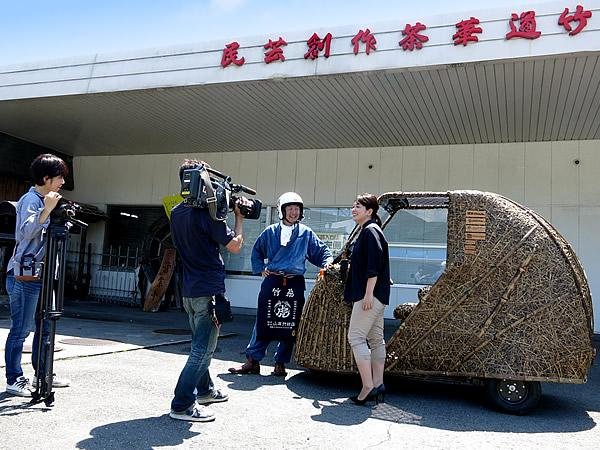 竹虎四代目、有吉都アナウンサー、日本唯一虎竹自動車