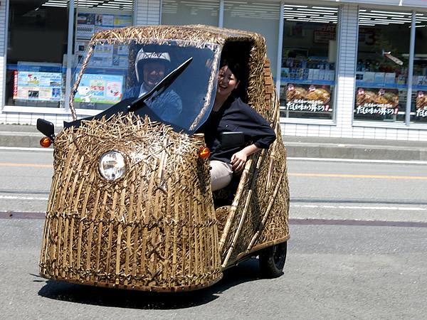 日本唯一虎竹自動車取材