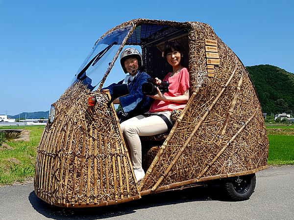 野村舞アナウンサー、竹虎四代目、日本唯一の虎竹自動車、光岡自動車(Like-T3)