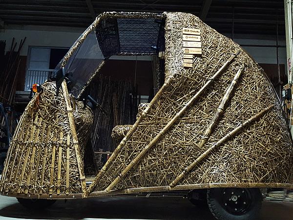 竹トラッカー(Tiger Bamboo car)