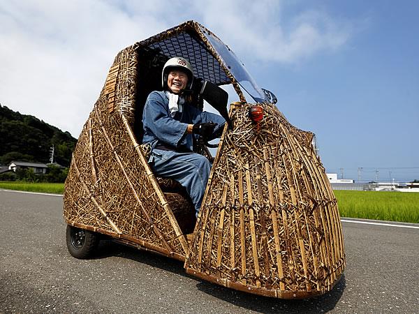 日本唯一の虎竹電気自動車「竹トラッカー」、竹虎四代目