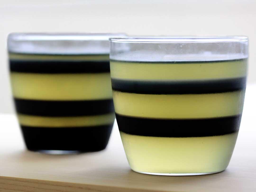 竹炭レモンゼリー