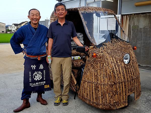 竹竹虎四代目(山岸義浩、YOSHIHIRO YAMAGISHI、TAKETORA)、竹トラッカー
